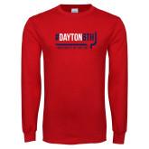 Red Long Sleeve T Shirt-Dayton6th