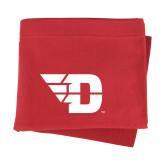 Red Sweatshirt Blanket-Flying D