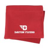 Red Sweatshirt Blanket-Dayton Flyers