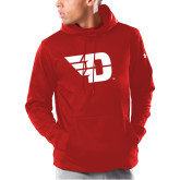 Under Armour Red Armour Fleece Hoodie-Flying D
