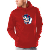 Under Armour Red Armour Fleece Hoodie-Mascot