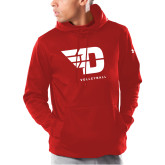 Under Armour Red Armour Fleece Hoodie-Volleyball