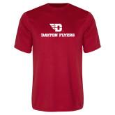 Performance Red Tee-Dayton Flyers