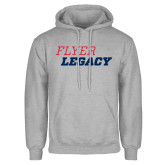 Grey Fleece Hoodie-Flyer Legacy