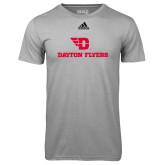 Adidas Climalite Sport Grey Ultimate Performance Tee-Dayton Flyers
