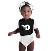 Black Baby Bib-Flying D