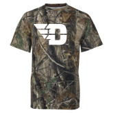Realtree Camo T Shirt-Flying D