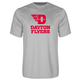 Performance Platinum Tee-Dayton Flyers Stacked