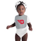Grey Baby Bib-Flying D