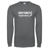 Charcoal Long Sleeve T Shirt-Dayton6th