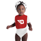 Red Baby Bib-Flying D