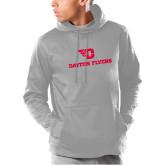 Under Armour Grey Armour Fleece Hoodie-Dayton Flyers