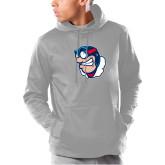 Under Armour Grey Armour Fleece Hoodie-Mascot