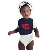 Navy Baby Bib-Flying D