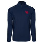 Sport Wick Stretch Navy 1/2 Zip Pullover-Flying D