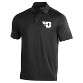 Under Armour Black Performance Polo-Flying D