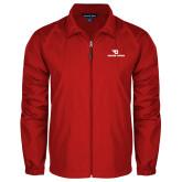 Full Zip Red Wind Jacket-Dayton Flyers