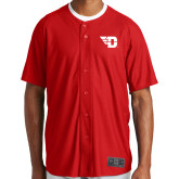 New Era Red Diamond Era Jersey-Flying D