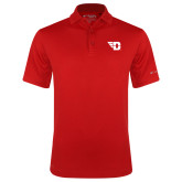 Columbia Red Omni Wick Drive Polo-Flying D