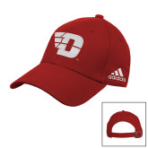 Adidas Red Slouch Unstructured Low Profile Hat-Flying D