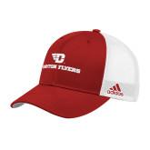 Adidas Red Structured Adjustable Hat-Dayton Flyers