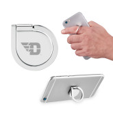 Aluminum Cell Phone Ring/Stand-Flying D Engraved