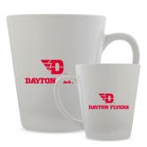Full Color Latte Mug 12oz-Dayton Flyers