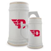 Full Color Decorative Ceramic Mug 22oz-Flying D