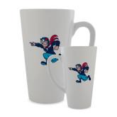 Full Color Latte Mug 17oz-Mascot Head