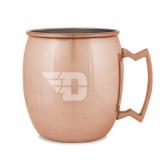 Copper Mug 16oz-Flying D Engraved
