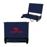 Stadium Chair Navy-Dayton Flyers