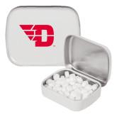 White Rectangular Peppermint Tin-Flying D