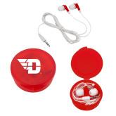 Ear Buds in Red Case-Flying D