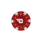 Red Game Chip-Flying D