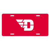 License Plate-Flying D