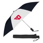 42 Inch Slim Stick Black/White Vented Umbrella-Flying D