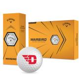 Callaway Warbird Golf Balls 12/pkg-Flying D