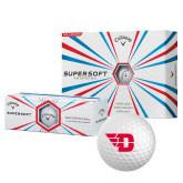 Callaway Supersoft Golf Balls 12/pkg-Flying D