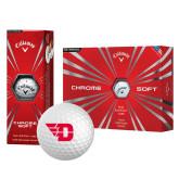 Callaway Chrome Soft Golf Balls 12/pkg-Flying D
