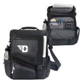 Momentum Black Computer Messenger Bag-Flying D