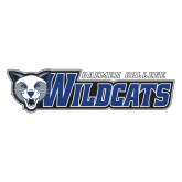 Extra Large Decal-Daemen College Wildcats w/ Head, 18 in Wide