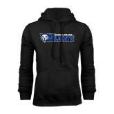 Black Fleece Hoodie-Daemen College Wildcats w/ Head