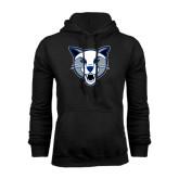 Black Fleece Hoodie-Wildcat Head