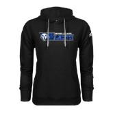 Adidas Climawarm Black Team Issue Hoodie-Daemen College Wildcats w/ Head