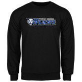 Black Fleece Crew-Daemen College Wildcats w/ Head