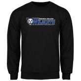 Black Fleece Crew-Daemen College Wildcats w/ Head