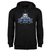 Black Fleece Full Zip Hoodie-Official Logo