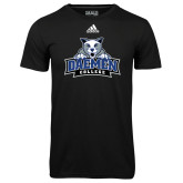 Adidas Climalite Black Ultimate Performance Tee-Official Logo