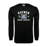 Black Long Sleeve TShirt-Cross Country XC