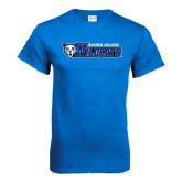 Royal T Shirt-Daemen College Wildcats w/ Head